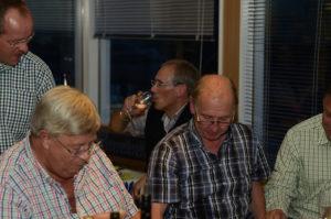 Weinprobe 2016 im Clubhaus